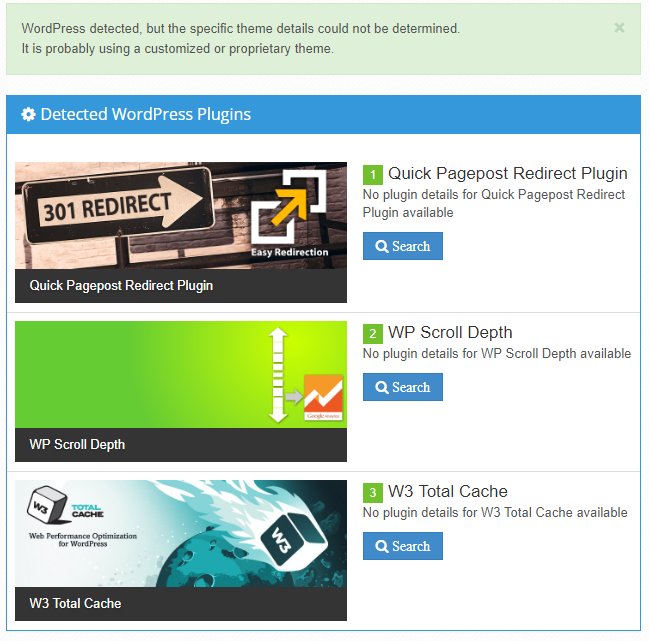 Analysis of Wix Blog - running on WordPress