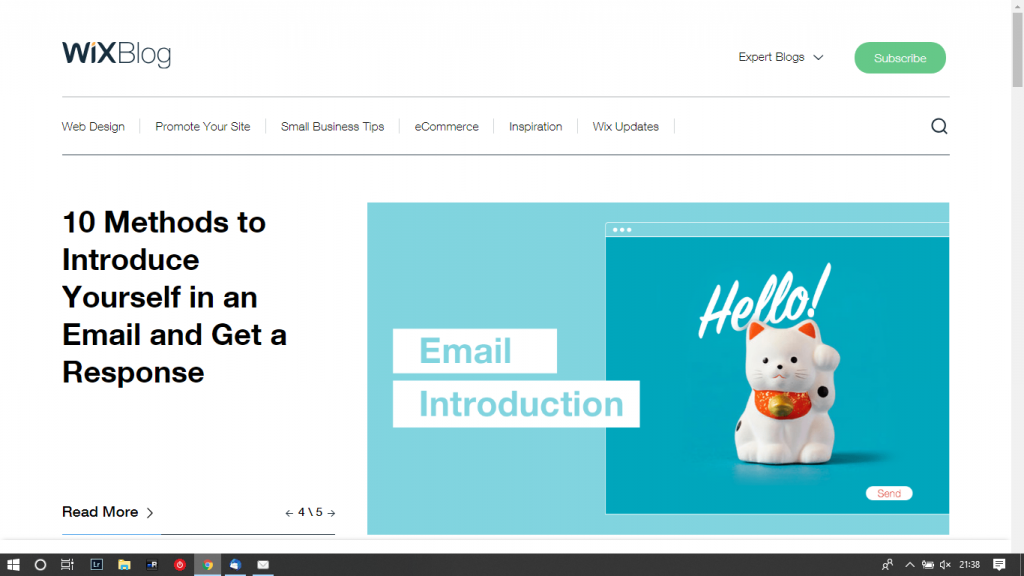 Wix uses WordPress for their blog (and so should you) 5