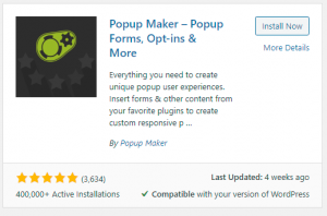 Popup Maker Plugin