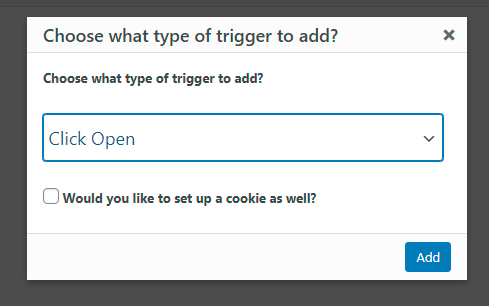 Popup Trigger
