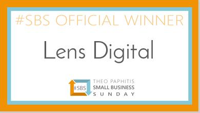 Small Business Sunday - `SBS Winners Badge